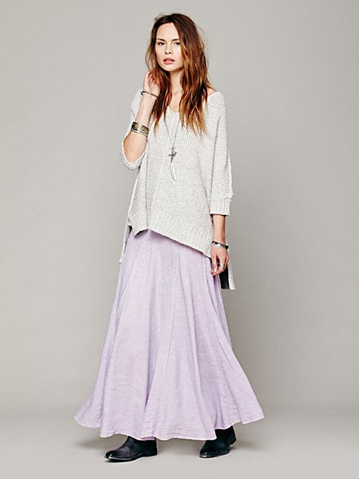 Overdyed Railroad Maxi in clothes-skirts