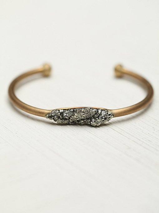 Marly Moretti Pyrite and Stones Cuff in jewelry