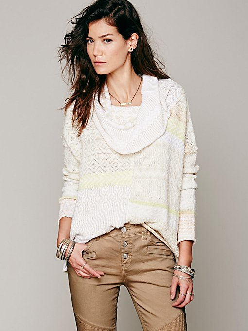 Free People Favorite Cowl Pullover