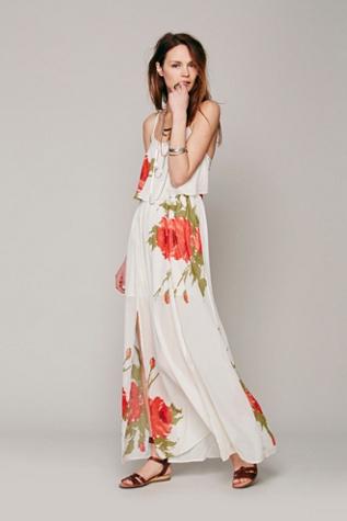 Fly Away Rose Dress