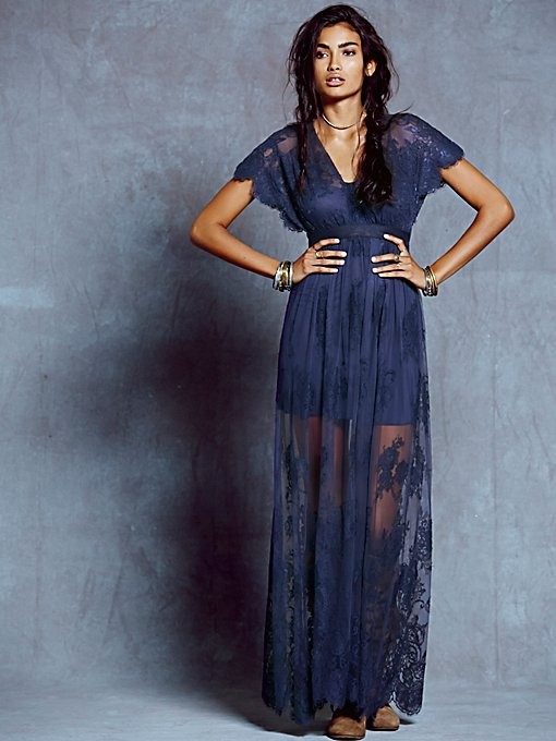 Ethereal Lace Maxi