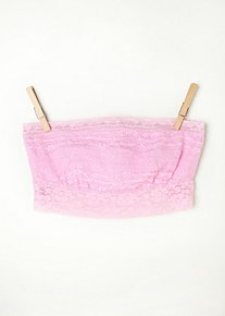Lace Trim Bandeau in Intimates-the-lace-shop