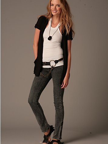 Free People Clothing Boutique > James Zippered Cigarette By Genetic :  zipper skinny jeans