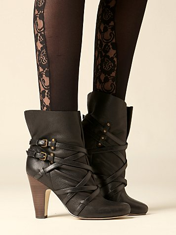 Gatsby Heeled Boot :  ankle boot heels shoes boots